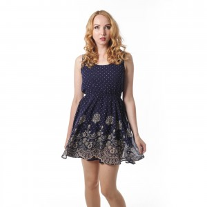 INNOCENT LIFESTYLE - CUTIE DRESS LADIES BLUE