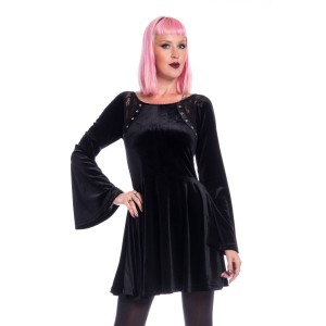 CHEMICAL BLACK - Dark Faith Dress Ladies Black *NEW IN*