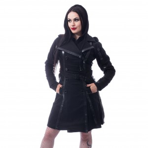 CHEMICAL BLACK - Dark Silence Coat Ladies Black *a1