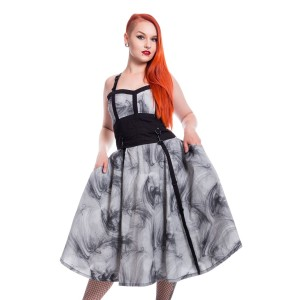 VIXXSIN - Dark Smoke Dress Ladies Grey *NEW IN*