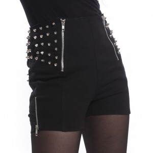 HEARTLESS - DEVINA SHORTS LADIES BLACK