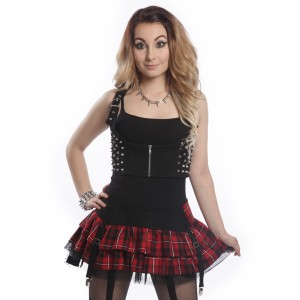 HEARTLESS - DEVINA VEST LADIES BLACK
