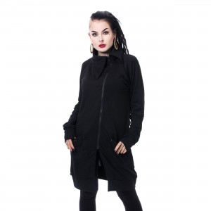 POIZEN INDUSTRIES - DIEM CARDIGAN LADIES BLACK |c|