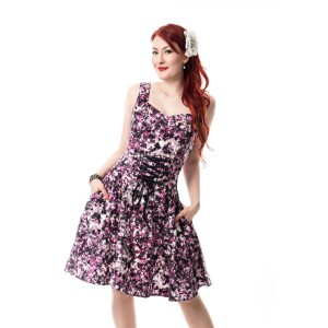 ROCKABELLA - DIVA DRESS LADIES MULTI
