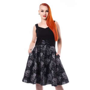 DOCTOR WHO - DOCTOR WHO FIERCE ANGEL DRESS LADIES BLACK