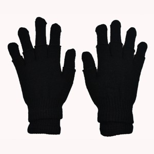 POIZEN INDUSTRIES - DOUBLE GLOVES LADIES BLACK