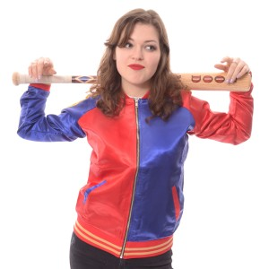 SUICIDE SQUAD - PROPERTY JACKET RED/BLUE (HARLEY QUINN)
