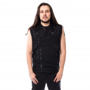 HEARTLESS - Eero Vest Mens Black *NEW IN-a*