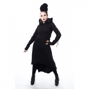 HEARTLESS - ELETTRA HOOD LADIES BLACK |b|