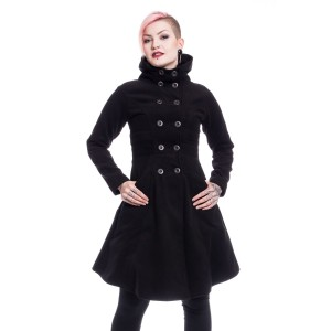 VIXXSIN - Eliana Coat Ladies Black *NEW IN*