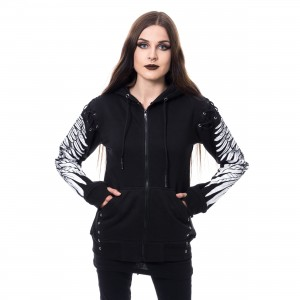POIZEN INDUSTRIES - ELORA HOOD LADIES BLACK |c|