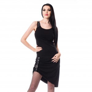 CHEMICAL BLACK - Emma Dress Ladies Black *NEW IN-a*
