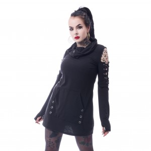 POIZEN - Fash Top Ladies Black *a1