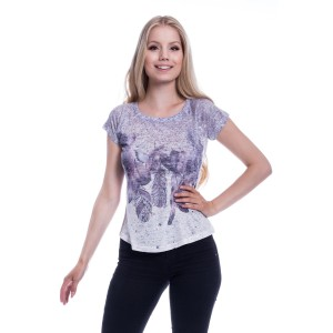INNOCENT LIFESTYLE - Feather Drop T Ladies Cream *NEW IN*