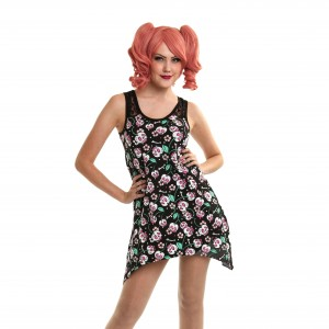 CUPCAKE CULT - FLY DRESS LADIES CHERRY BONE