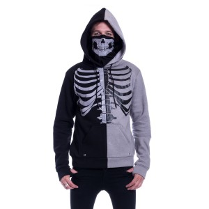 HEARTLESS - Fracture Hood Mens Black/Grey *NEW IN*