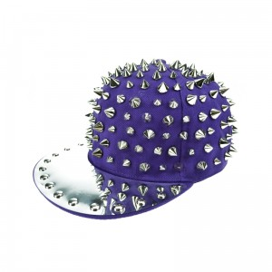 CUPCAKE CULT - FULL SPIKE CAP LADIES PURPLE/SILVER