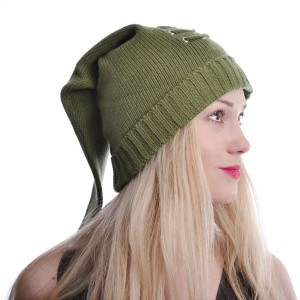 CUPCAKE CULT - GAMER HAT LADIES GREEN *NEW*