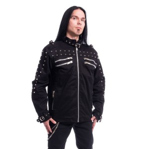 CHEMICAL BLACK - Gaston Jacket Mens Black *NEW IN*