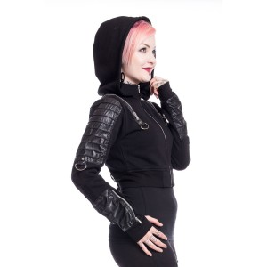 VIXXSIN - Vanish X Hood Ladies Black *NEW IN*