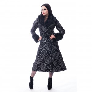 POIZEN INDUSTRIES - GRAVE COAT LADIES GREY |c|