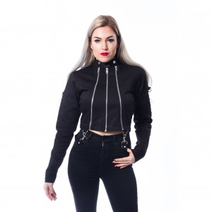 CHEMICAL BLACK - GRAY JACKET LADIES BLACK |b|