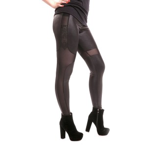 CUPCAKE CULT - HNET LEGGINGS LADIES BLACK SIZE M/L