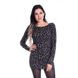 VIXXSIN - Hanza Top Ladies Grey Leo *NEW IN*