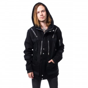 VIXXSIN - HARRISON JACKET MENS BLACK |c|