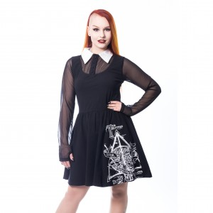 HARRY POTTER - HARRY POTTER DARK DRESS LADIES BLACK