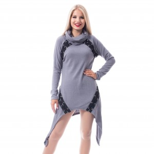 POIZEN - Hazard Dress Ladies Grey *a1