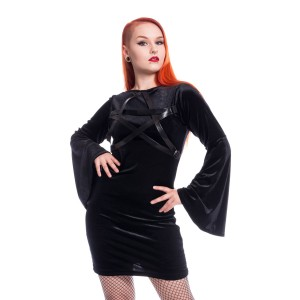 HEARTLESS - Hocus Pocus Dress Ladies Black *NEW IN*