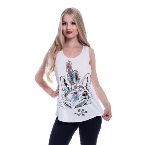 INNOCENT LIFESTY - Indian Dream Vest Ladies White *NEW IN-a*