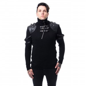 POIZEN INDUSTRIES - JACOB TOP MENS BLACK |c|