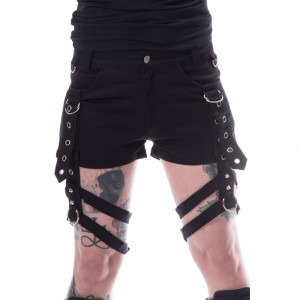CHEMICAL BLACK - Jasmin Shorts Ladies Black *NEW IN-a*