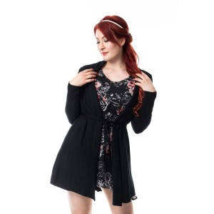 INNOCENT LIFESTYLE - JODIE CARDIGAN LADIES BLACK *NEW*