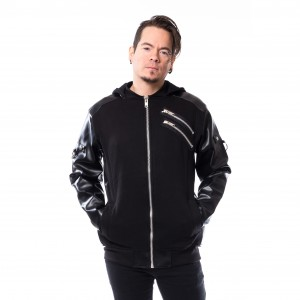 CHEMICAL BLACK - Joona Jacket Mens Black *NEW IN-a*
