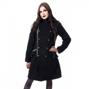 POIZEN INDUSTRIES - KARRI COAT LADIES BLACK |c|