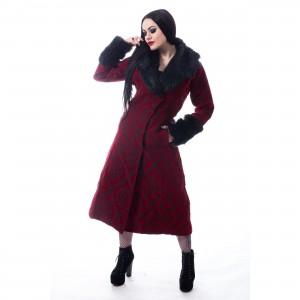 POIZEN INDUSTRIES - KASTE COAT LADIES RED |c|