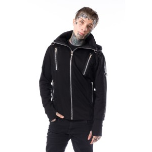 CHEMICAL BLACK - Kieran Hood Mens Black *NEW IN*