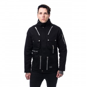 VIXXSIN - KINGSTON JACKET MENS BLACK |c|