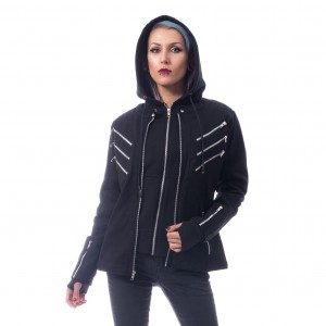 VIXXSIN - Last Rebel Jacket Ladies Black *a1