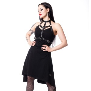 VIXXSIN - LETHIA DRESS LADIES BLACK