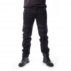 VIXXSIN - Liam Pants Mens Black *NEW IN-a*