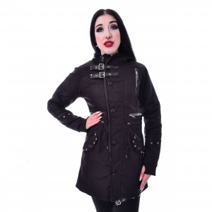 POIZEN INDUSTRIES - LIASON COAT LADIES BLACK |c|