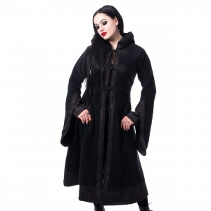 POIZEN INDUSTRIES - LUELLA COAT LADIES BLACK |c|