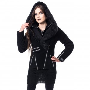 VIXXSIN - MACKENZIE JACKET LADIES BLACK |c|