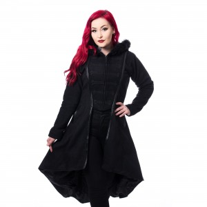 POIZEN INDUSTRIES - MADDISON COAT LADIES BLACK |c|