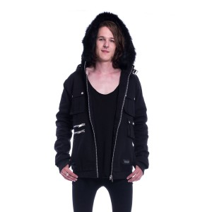 VIXXSIN - Maddox Jacket Mens Black *NEW IN*
