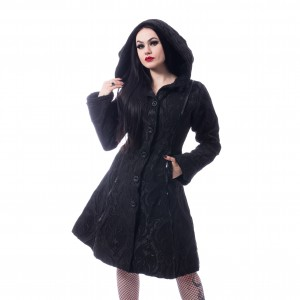 POIZEN - Mansion Coat Ladies Black *a1